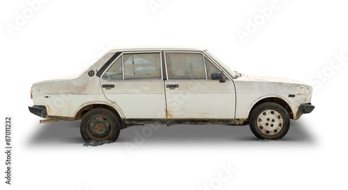 Old Car (Clipping Path Included) © adempercem