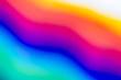 canvas print picture - rainbow spectrum blurred background