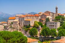 Old Town Landscape, Sartene, Corsica