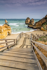 Panel Szklany Popularne Playa de Doña Ana, Lagos, Algarve, Portugal