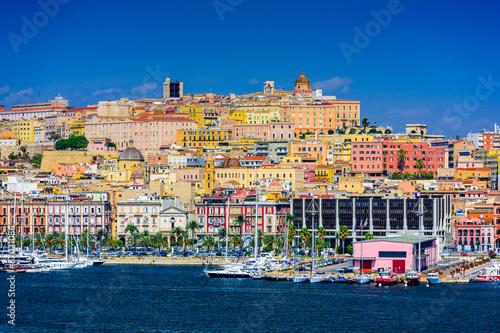 Fotografie, Obraz Cagliari Panoráma