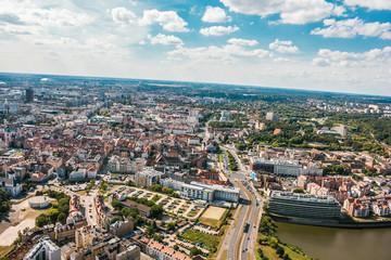 Poznań, Miasto z lotu ptaka