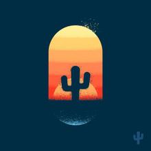 Desert Cactus Emblem