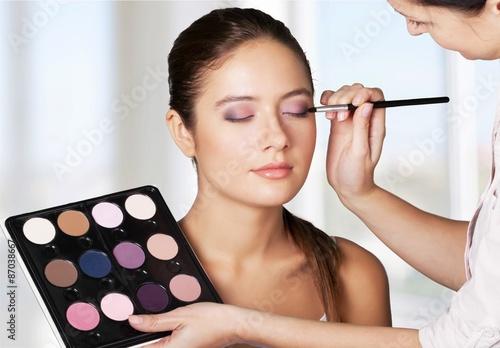 Photo  Make-up, Beautician, Cosmetics.