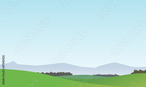 Vector Landscape Background 1