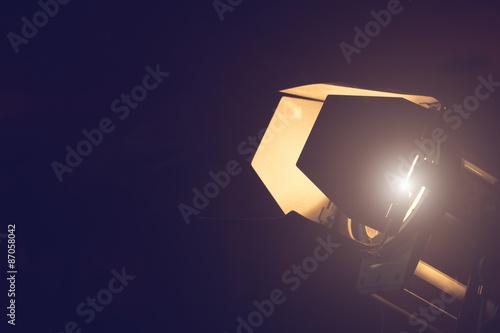 Photo  Movie reflector lighting equipment.