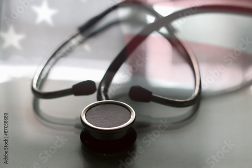 Valokuvatapetti US treatment stethoscope