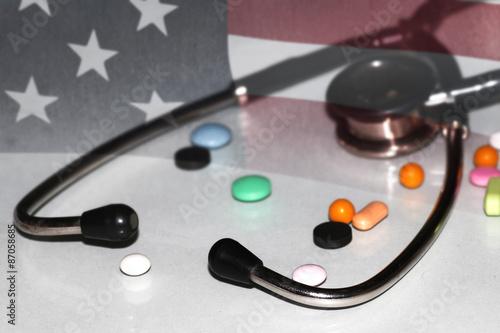 Fényképezés  US treatment stethoscope