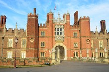 Hampton Court Palace From Front