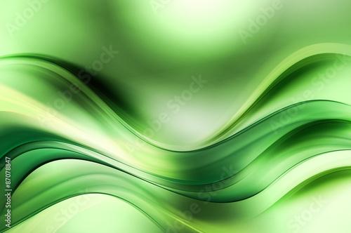 fraktal-zielone-fale-sztuki-streszczenie-tlo