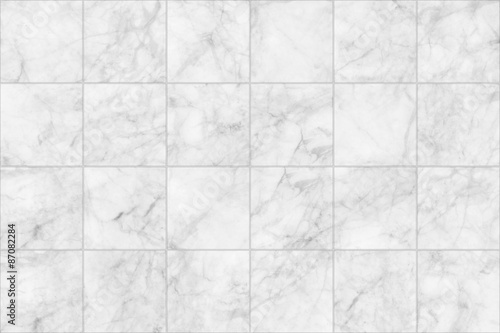 Fotomural  Marble tiles seamless floor texture, detailed structure of marble in natural patterned  for background and design