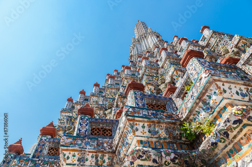 Foto op Plexiglas Temple Wat Arun - the Temple of Dawn in Bangkok, Thailand