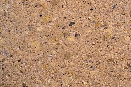 Fotografia, Obraz  Sandstone texture beige breccia (conglomerate)