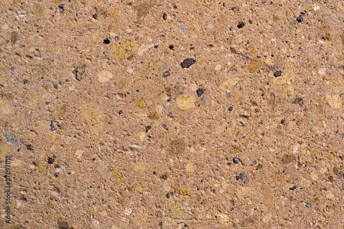 Fényképezés  Sandstone texture beige breccia (conglomerate)