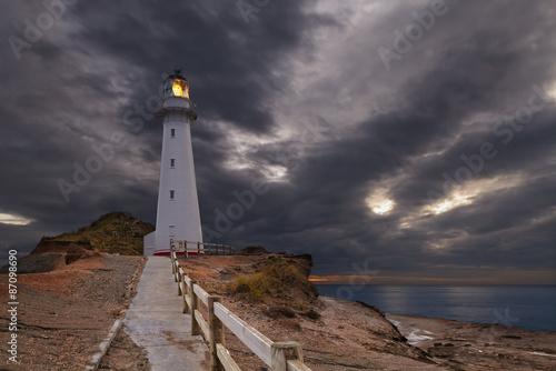 Keuken foto achterwand Vuurtoren Castle Point Lighthouse