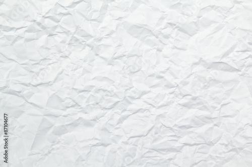 Fototapeta  texture of wrinkled paper