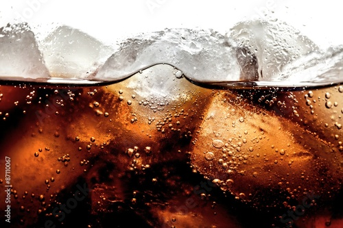 Soda, Cola, Cold Drink. Wallpaper Mural