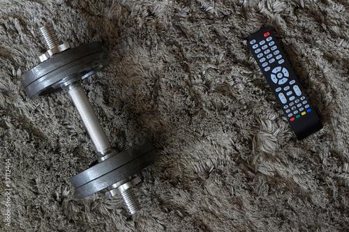 Obraz Ćwiczenie silnej woli - fototapety do salonu