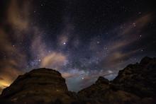 Beautiful Night Starry Sky Wit...