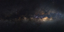Panorama Milky Way Galaxy, Lon...