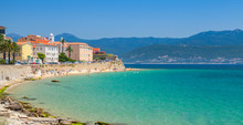 Ajaccio, Corsica Island, France. Coastal Cityscape