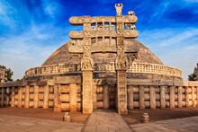 Great Stupa. Sanchi, Madhya Pr...