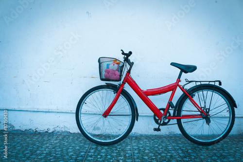 red bicycle © saiyood