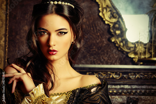 Photo noble woman