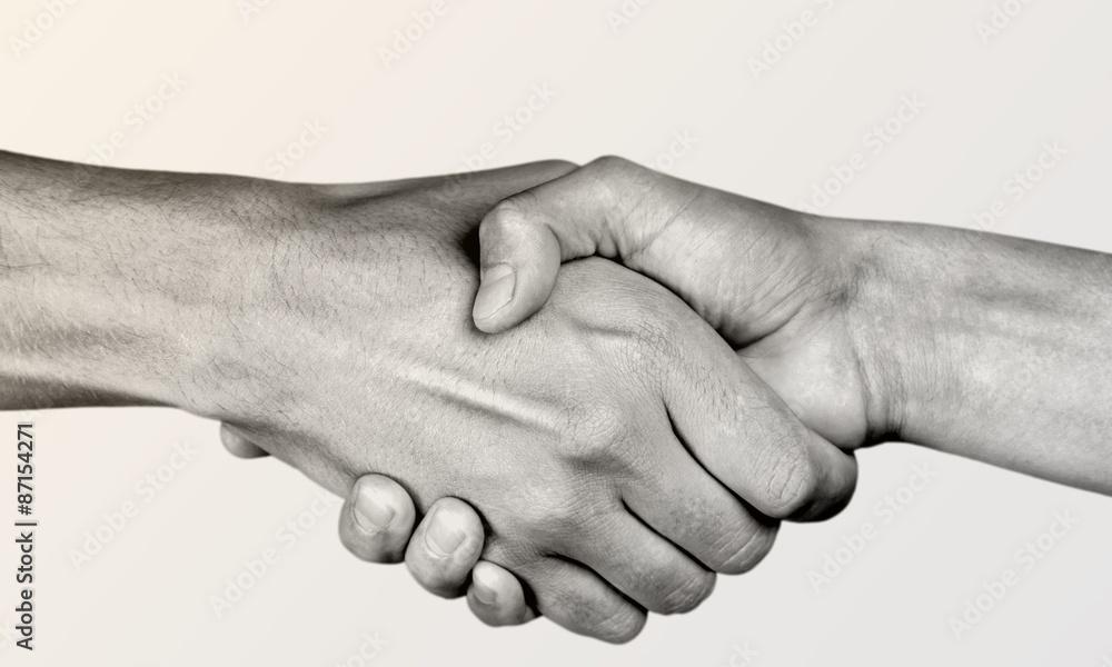 Fototapeta Help, hand, partnership.
