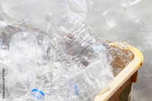 Fotografie, Obraz  回収されたペットボトル