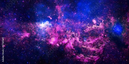 Fototapeta Flaming Star Nebula