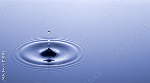 Foto op Canvas Water Water drop.