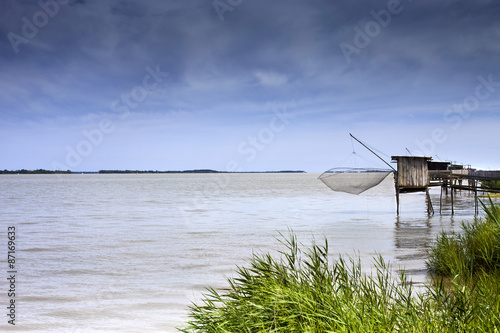 Fototapeta Fisherman huts obraz na płótnie