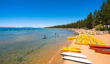 Beautiful Lake Tahoe, Californ...