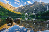 Morskie Oko, górski staw, Rysy, Montain's lake
