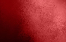 Red Christmas Color Background With Vintage Texture