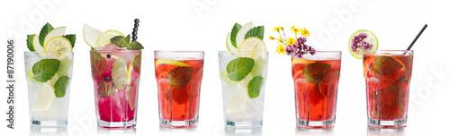 Fotografie, Obraz  Mojito cocktails set
