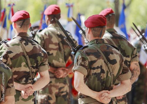 Fotografía  Militaires