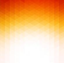 Abstract Orange Geometric Technology Background