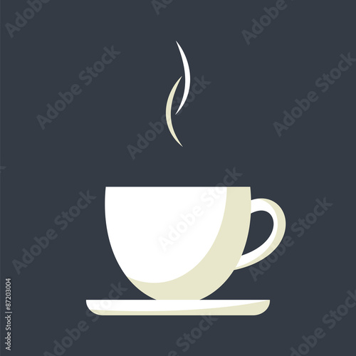 Fotografiet Coffee cup