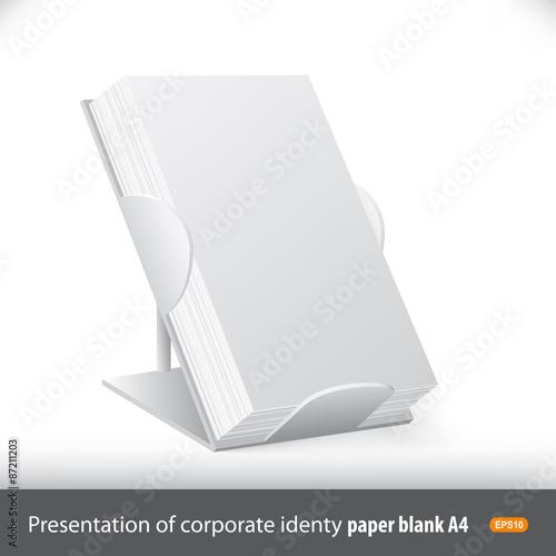 Advertising board for presentation