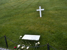 Robert Kennedy's Grave In Arlington National Cemetery In Virginia USA