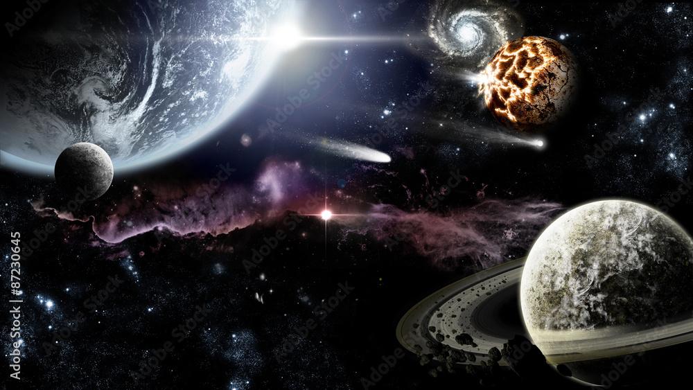 Fototapety, obrazy: Galassia lontana