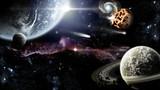 Fototapeta Kosmos - Galassia lontana