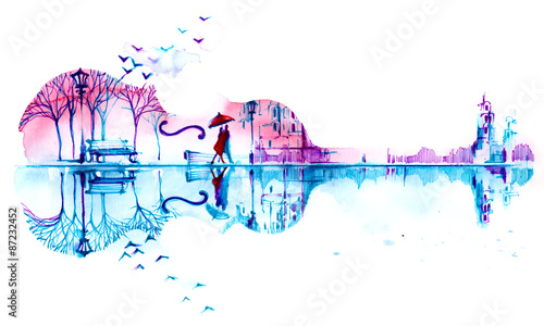 Obraz premium romantyczna fabuła