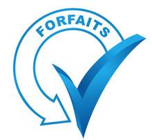 Forfaits Sur Symbole Validé Bleu