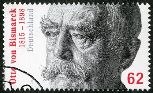 Fotografía GEMANY - 2015: shows Otto von Bismarck (1815-1898), Prussian statesman