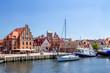 Leinwandbild Motiv Wismar Hafen