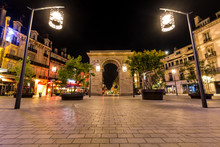 Porte Guillaume Square In Dijon, France