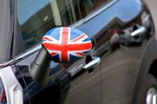 British Flag On Mini